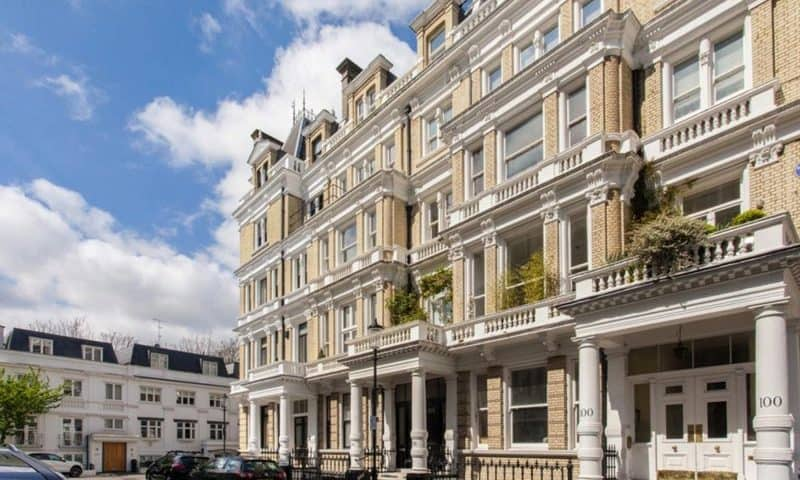 A home in Kensington needing damp repair